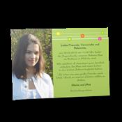 Einladungskarten Jugendweihe Kreativ 2030 Vorne