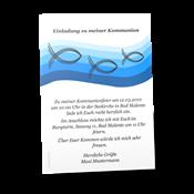 einladungskarten kommunion | festliche einladungen zur kommunion, Einladung